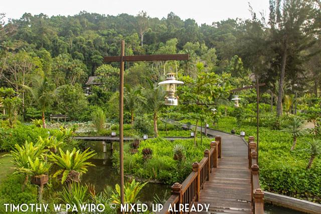 Malaysia - Kinabalu - Gaya Island Resort - The resort