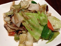 Stir-Fried Vegetables @Osaka Osho, Nanjin Road Wes…