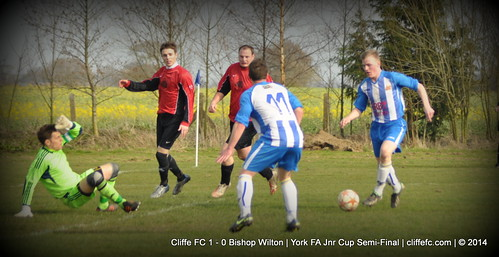 Cliffe FC 1 - 0 Bishop Wilton 15Mar14