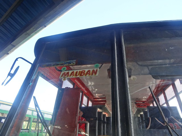 Bus to Mauban