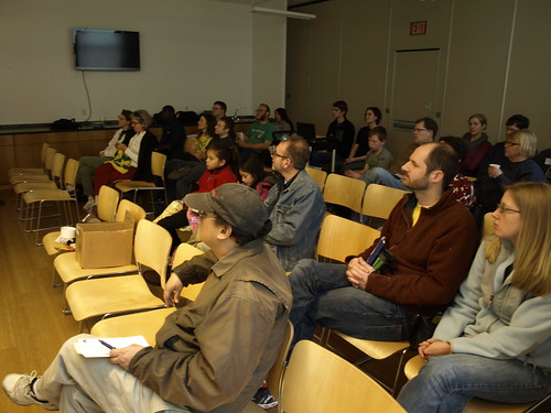 Image of participants in an educational session.