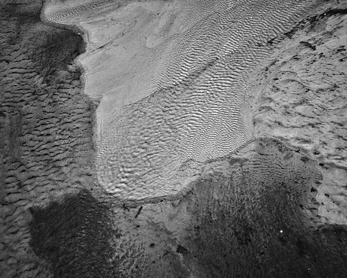 Footprint of water.