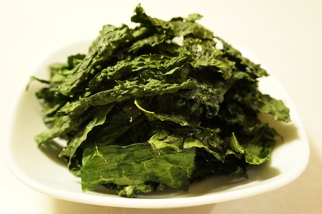 Baked Classic Kale Chips