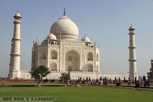 Agra - Taj Mahal 6