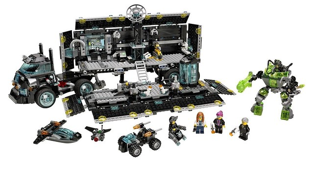 LEGO Ultra Agents 70165 - Ultra Agents Mission HQ