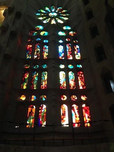 Fenster Sagrada Familia