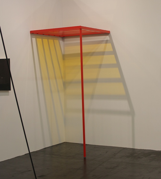Liam Gillick at booth Kerlin Gallery Dublin