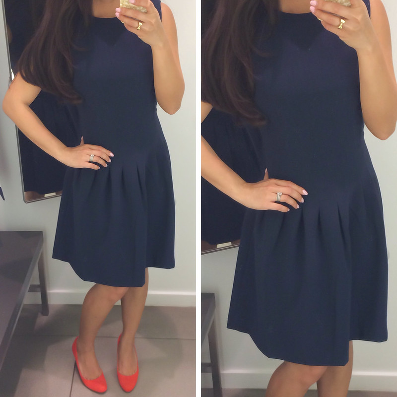 H&M Navy Sleeveless Dress