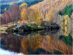 A view of the east end of Loch Tummel last Autumn....