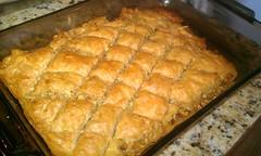 meal, baklava, baking, banitsa, baked goods, food, dish, dessert,