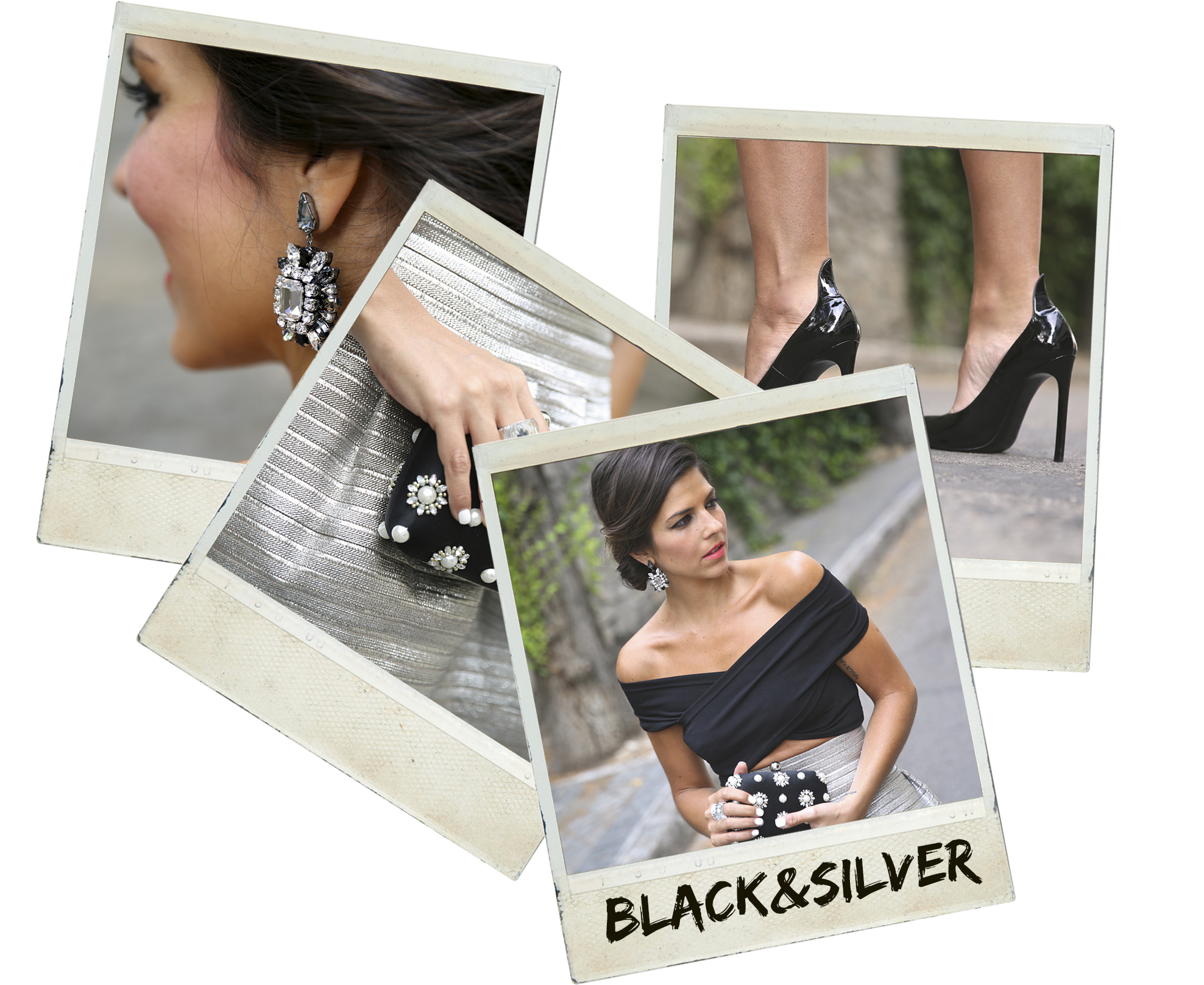 trendy_taste-look-outfit-street_style-blog-blogger-fashion_spain-moda_españa-saint_laurent-charol-crop_top-falda_plateada-silver_skirt-swarovski-wedding-boda-ocasiones_especiales-polaroid
