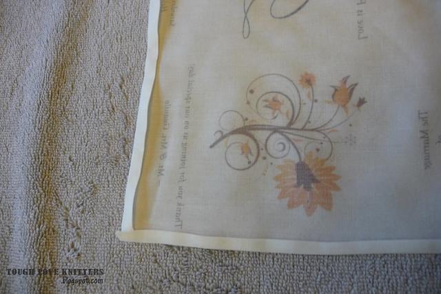 Wedding Handkerchief - Pressing - steam (1)