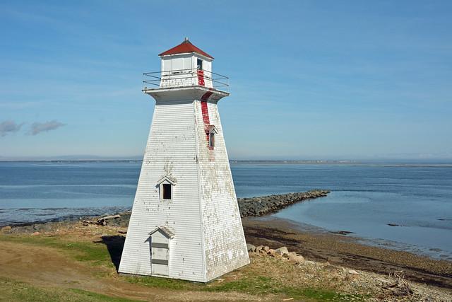 Pointe à Brideau Range (rear) Lighthouse, NB