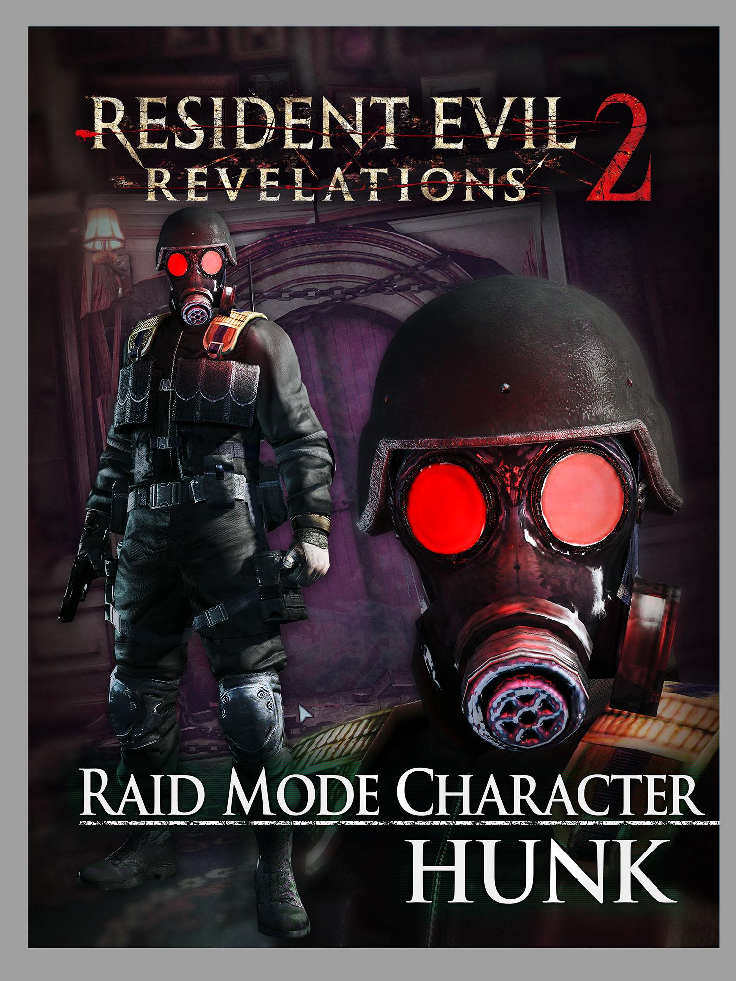 Raid Character Hunk