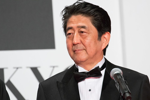 Prime Minister Abe Shinzo at Opening Ceremony of the Tokyo International Film Festival 2016