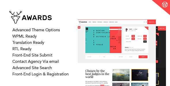Awards WordPress Theme free download