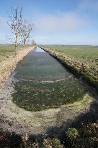 Entwässerungskanal, Lewitz
