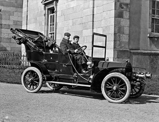 Mr. Peare, Catherine Street, Waterford, motor car