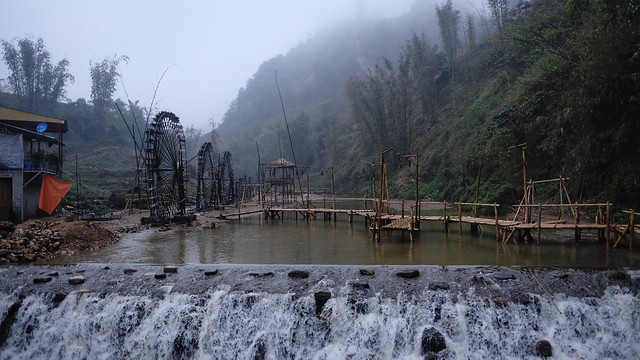 Cat Cat Village hydroelectric station
