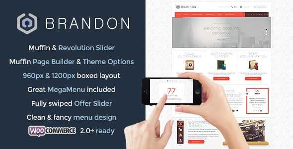 Brandon WordPress Theme free download