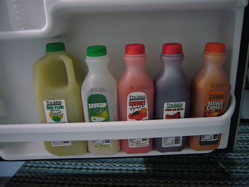 local fruit juices