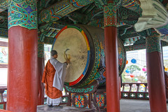 Monk Drumming 3