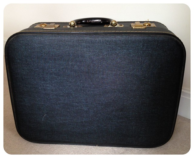 suitcase, vintage,