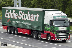 Volvo FH 6x2 Tractor - PX11 CDY - Kerima Ann - Eddie Stobart - M1 J10 Luton - Steven Gray - IMG_0235