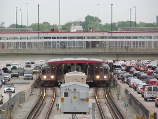 Final Rush Hour at 95th/Dan Ryan CTA Terminal