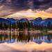 Sprague Lake Sunset, Rocky Mountain National Park by Swapan Jha (1M+ Views)