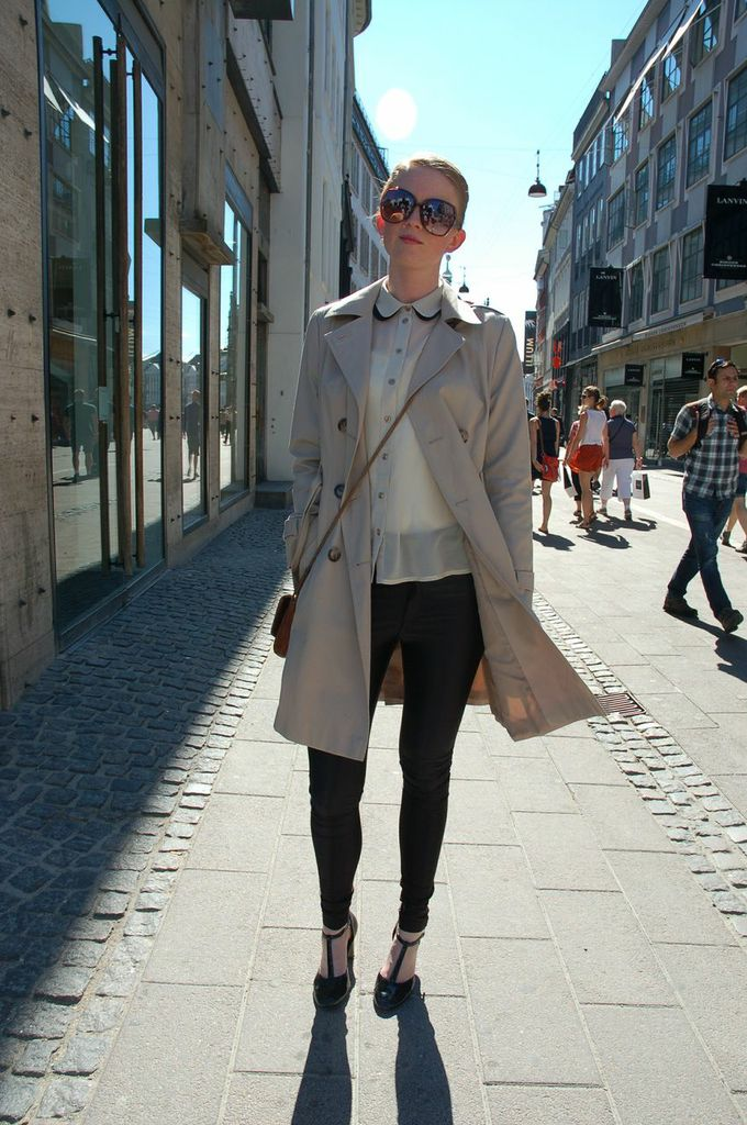 Cool and chilled Copenhagen Girl