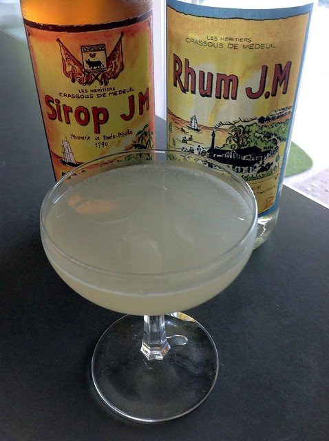 Daiquiri Naturale with rhum agricole & sirop JM
