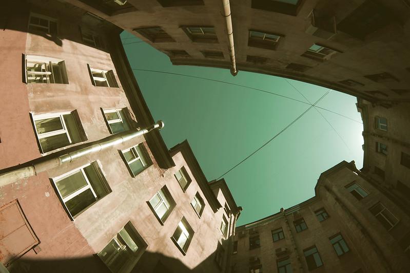 St.Petersburg courtyards