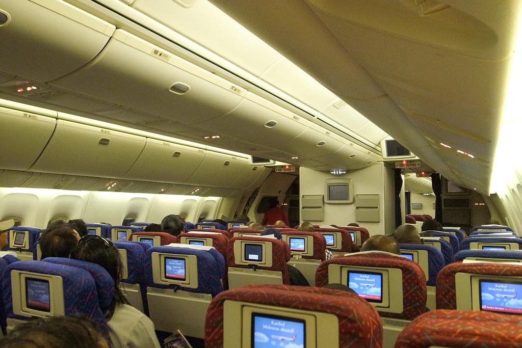 Kenya Airways KQ886 NBO-BKK