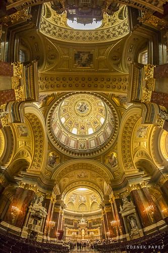 Golden Basilica by Zdenek Papes
