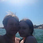 In the Sea at Nettuno Beach