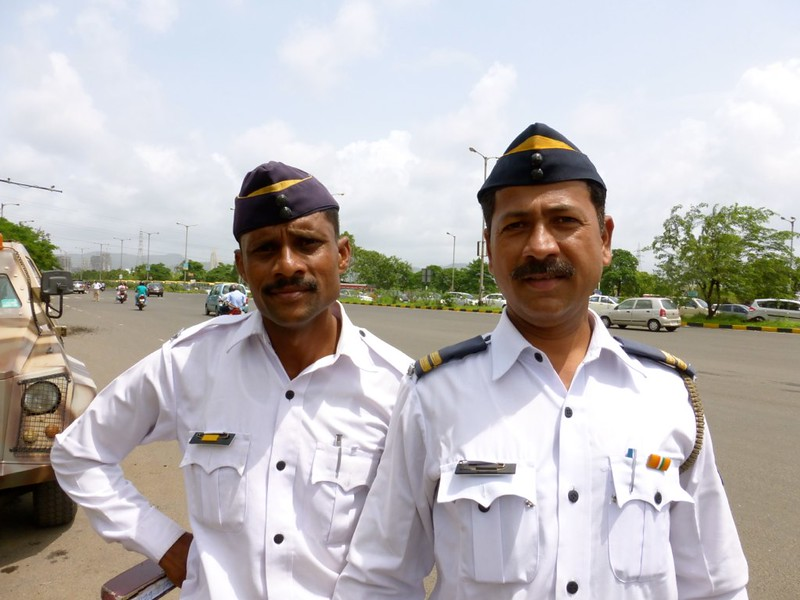 Airoli Toll Plaza - Police Security