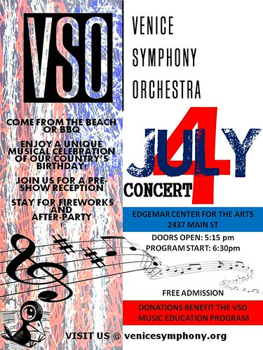 Venice Orchestra 4th of July