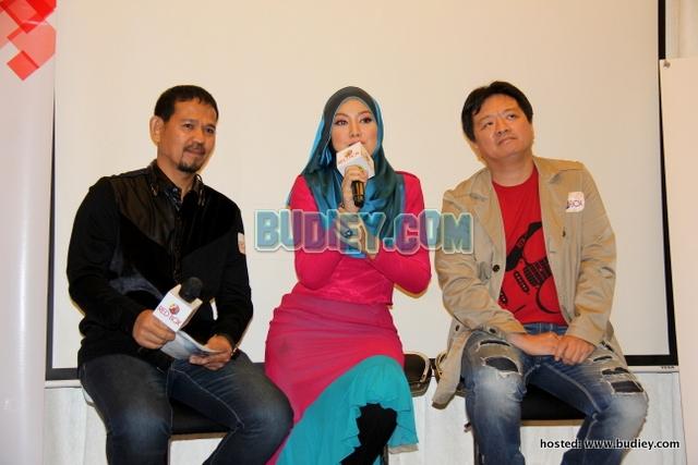 Gambar Shila Amzah di Majlis Pra Dengar Album Terbaru