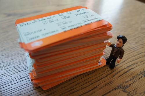 More train tickets