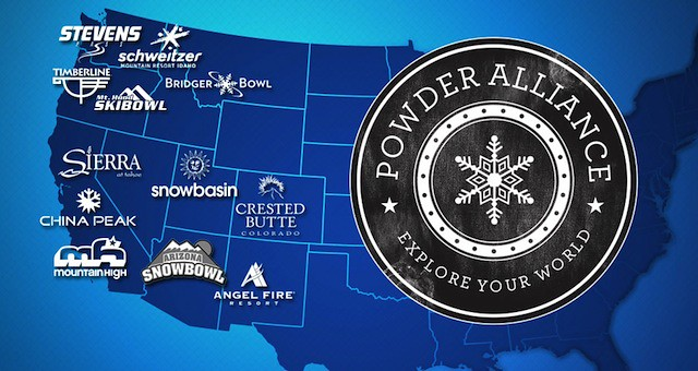 Powder Alliance map