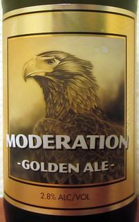 Moderation Golden Ale