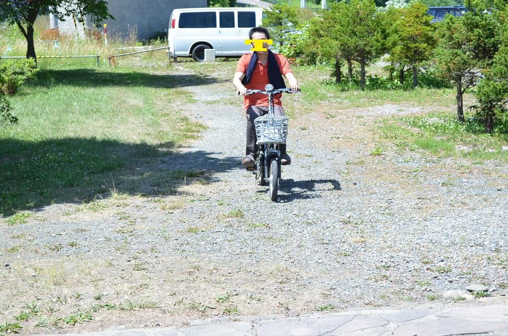 電動自転車。4