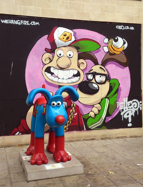 Hero by Tom Deams (featuring Gromit graffiti by Cheo)