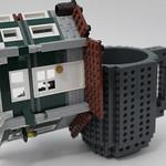 ThinkGeek - Build-On Brick Mug