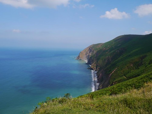 Lynmouth Lynton North Devon coastal path exmoor