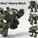 """Orthos"" Heavy Mech by Garry_rocks"