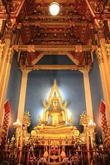 Bouddha - Wat Benchama Bophit - Bangkok - Thaïlande