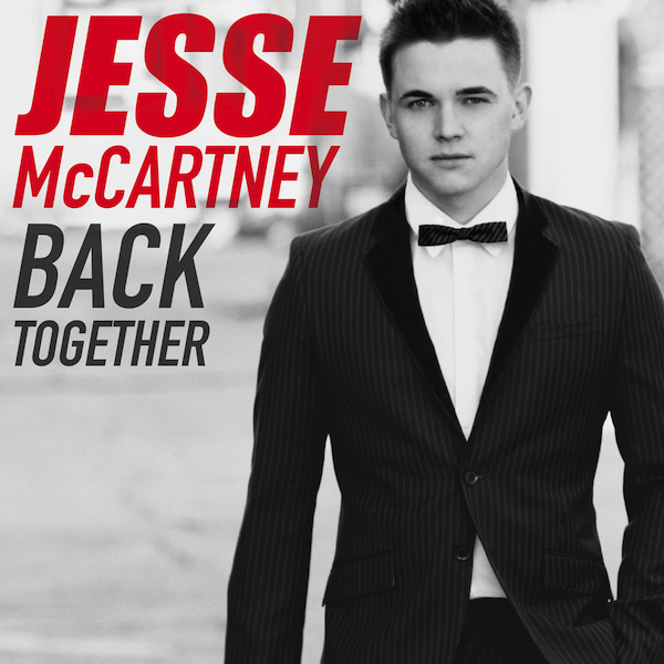 Jesse McCartney Back Together Single Cover 2013
