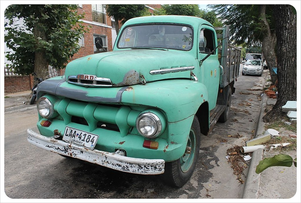 uruguay vintage ford truck